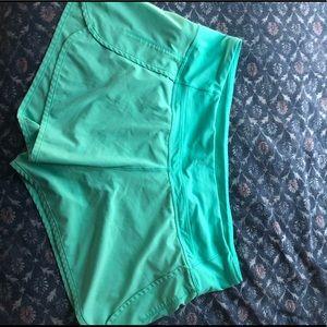 Lululemon track shorts